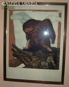 Skricka Ernst : akvarell - rézkarc 2.