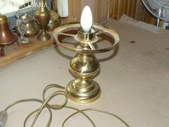 Sárgaréz ernyős asztali lámpa 25 cm