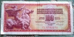 100 Jugoszláv Dínár