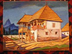 Csapek Károly 50x70 cm olaj-vászon