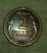 Bronz 2 Fillér 1938