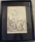 Abonyi Ernő 37x25 cm litográfia