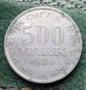 1923-as 500 Reichs Mark