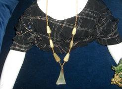 Mutatós régi nyaklánc