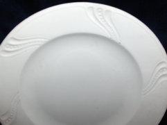 Régi porcelán falra akasztható kínáló tál - 29 x 4,5