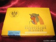 Egyiptomi  dohány & cigarettatartó papír doboz.