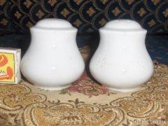 Porcelán asztali só és bors szóró készlet