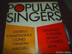 Popular Singers - BTA 1206 bakelit lemez eladó