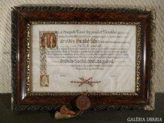 1758 T2 Szegedi Úszóegylet antik relikvia 1940