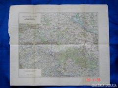 A szlavoniai kincstári erdőbirtok térkép 1911.