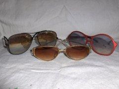 Retro napszemüveg - 3 db - együtt eladó