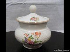 2412 D4 Régi BAVARIA porcelán cukortartó bonbonier