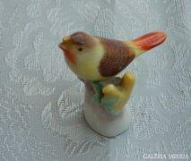 Herendi mini madár - ritka, gyűjtői darab!