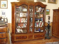 Könyvszekrény íróasztallal  -pótlás-
