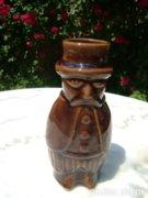 Barna mázas - ember - váza