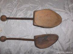 Két darab régi sámfa - kreatív tovább gondolásra