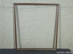7802 Régi vágható ezüstözött képkeret 44 x 50