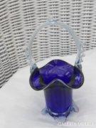 Muránói üveg kosárka