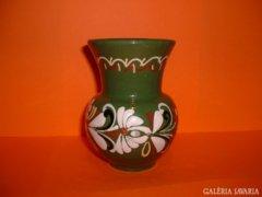 Népi kerámia váza