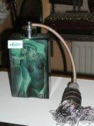 Csehszlovák parfűmös üveg
