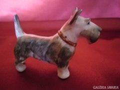 Kézzel festett porcelán Terrier