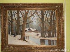 Kulcsár Béla festmény 103x130cm.