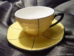 Finom Cseh kávés csésze + alj