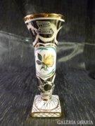 Belga kézzel készített kisméretű váza 17,5 cm