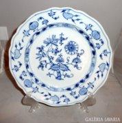 Meisseni hagymamintás tányér