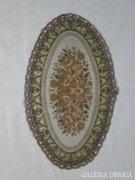 8093 Régi díszes terítő asztalterítő 24 x 41 cm