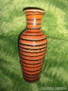 Retro csíkos váza