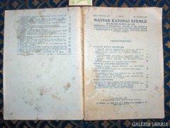 MAGYAR KATONAI SZEMLE - VITÉZ BERKÓ I. 1933.