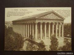 Francia  PARIS 0002   Madeleine-templom  kb 1920  RK