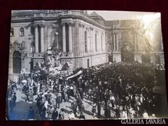 A trónörökös Budapest IV Károly korabeli sajtó fotó 1916