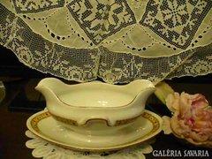 Zsolnay porcelán szószos