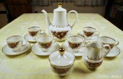 Henneberg porcelán kávés készlet