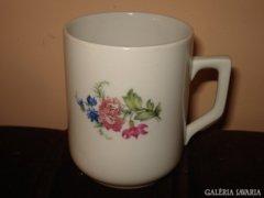 Zsolnay pajzspecsétes mezei virágos csésze