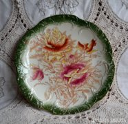 Antik angol Dudley MS&Co fajansz tányérok 2 db