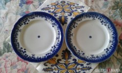 2 db Apulum sütis tányér
