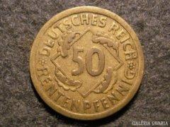Német 50 pfennig  1924A