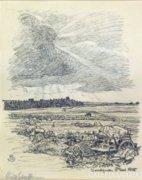 Schaeftlein, August : Harcvonalban 1915