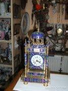 Kínai réz asztali óra