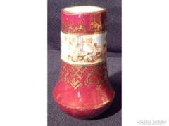 Y061 Régi angyal mintás porcelán váza