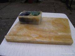 Antik márvány kalamáris tintatartó