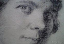 Zilahy Irén korai portréja