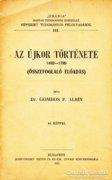 Dr. Gombos F. Albin: Az újkor története 1492-1789