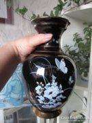 Csodás görög 24 K aranyozott nagy váza