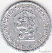 Csehszlovákia 10 Haleru 1961