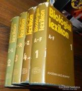 Biológiai lexikon /teljes sorozat 4 kötet