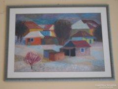 Károlyi Ernő 1968 téli falu